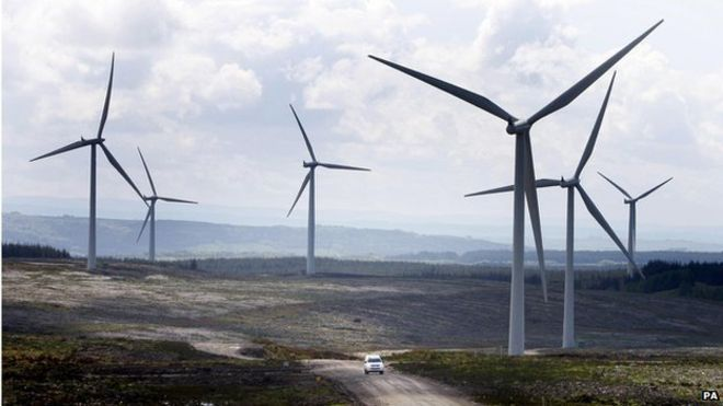 Wind farms' climate impact recorded for first time. In the first study of its kind, scientists have been able to measure the climatic effect of a wind farm on the local environment. The team said its experiment showed that there was a very slight warming at ground level and that it was localised to within a wind farm's perimeter. Data suggested the operation of onshore wind farms did not have an adverse ecological effect, the group added.