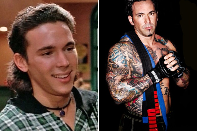 Ever wonder what happened to Tommy (aka the Green/White Ranger from 'Mighty Morphin' Power Rangers')? Well, there he is.