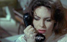 """Filme Black Sabbath (1963) Horror italiano dirigido pelo genial Mario Bava, que foi o grande responsável pela criação nos anos 50 e 60 da variação do gênero conhecida como Giallo, que remetia aos antigos livretos que tinham as capas amareladas; definindo o estilo dos filmes com cores fortes, elementos sobrenaturais, assassinos em série, forças ocultas, um visual sofisticado e belas mulheres. A obra conta com três curtas: """"The Telephone"""", """"The Wurdalak"""" e """"The Drop of Water""""."""