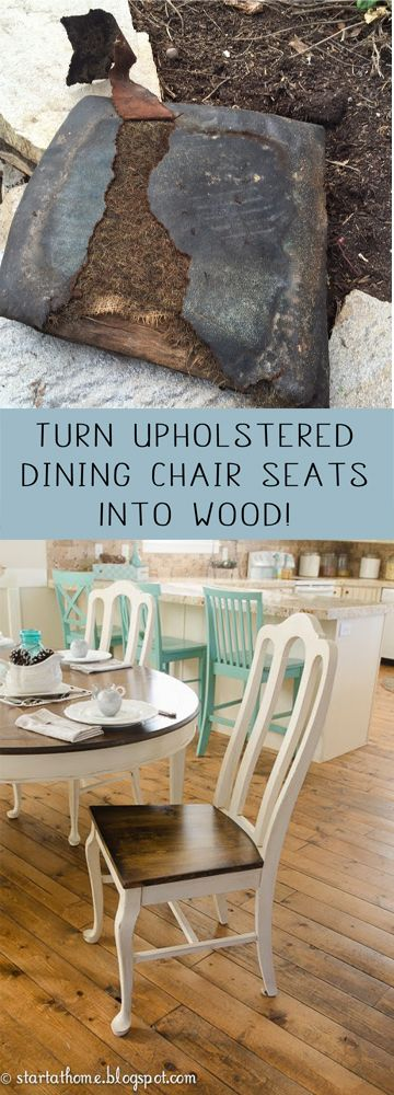 Diy Upholstered Dining Chairs best 25+ dining chair redo ideas on pinterest | dining chair