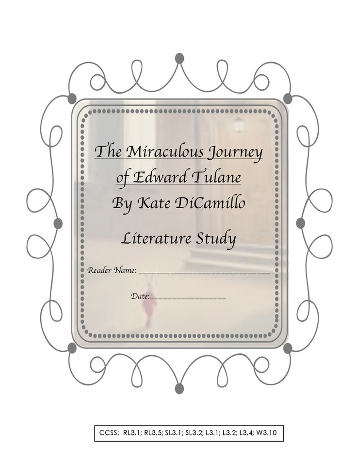 a critique of the miraculous journey of edward tulane a novel by kate dicamillo People's light & theatre company adds to its distinguished history of plays based on children's literature with dwayne hartford's theatrically rich, thematically mature adaptation of kate dicamillo's 2006 boston globe horn book award-winning novel the miraculous journey of edward tulane.