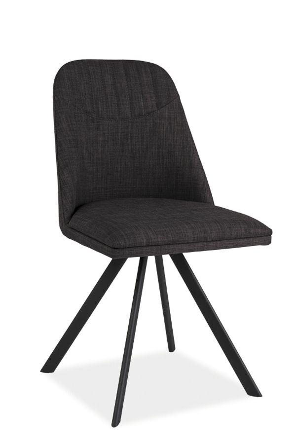 Krzesło tapicerowane MILTON, Signal - Meble