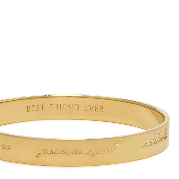 "Kate Spade ""Friendship""/Bridesmaid bangle. $58 perfect gift for a best friend!"