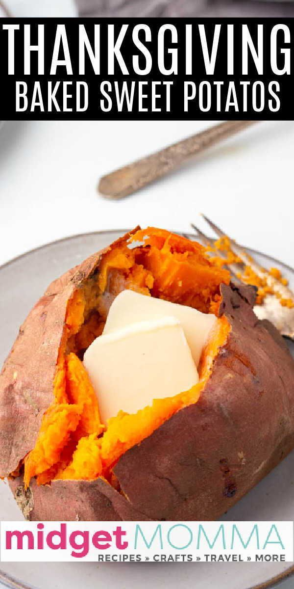 Easy Oven Baked Sweet Potatoes How To Bake Sweet Potatoes Sweet Potato Recipes Baked Sweet Potato Recipes Sweet Potato Fries Baked