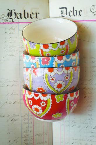 Amanda BowlsCeramics Lotus, Lotus Bowls, Handpainted Ceramics, Amanda Bowls, Dishes, House, Colors Bowls, Beautiful Things, Ceramics Bowls