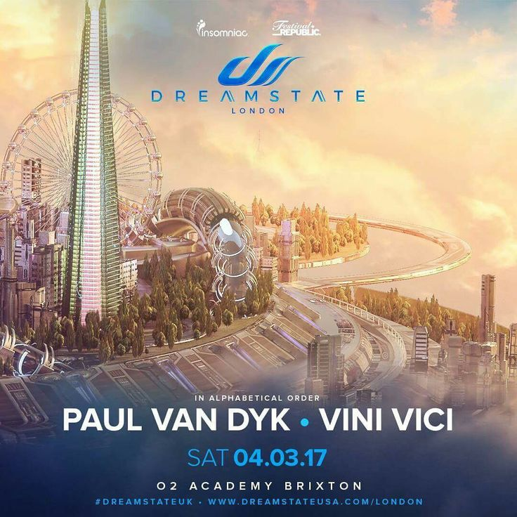 Dreamstate comes to the UK in 2017!