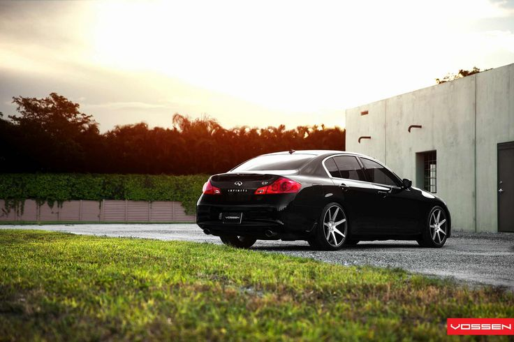 Infiniti G37 Sedan - VVSCV7 | VVS-CV7 - Matte Graphite Machi… | Flickr