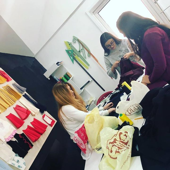 Last working days before holidays #fashioncampusarmenia #armenianfashionschool #drone #shopping #fashion # FactoryDirect