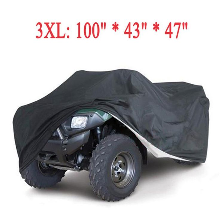 [Visit to Buy] Hot Universal Quad Bike ATV Cover Parts Motorcycle Vehicle Car Covers Dustproof Waterproof Resistant Dustproof Anti-UV Size 3XL  #Advertisement