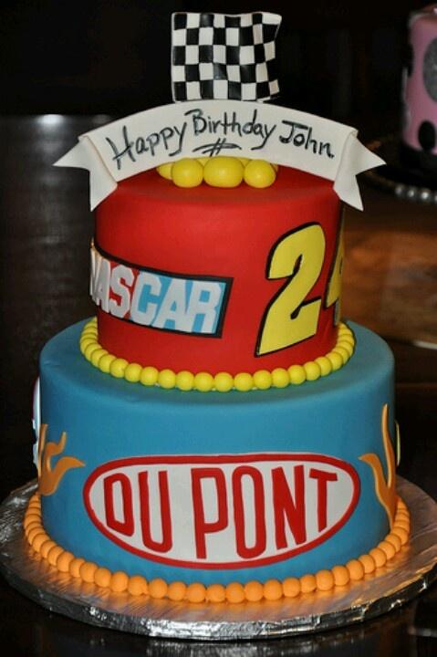 Nascar Birthday Cake For Scott