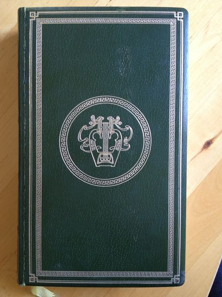 #littérature #épopée : L'Iliade d'Homère. Cercle du bibliophile, sans date. 530 pp. reliées.