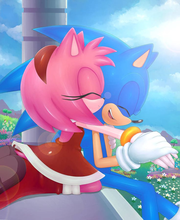 amy rosesonic the hedgehog works archive of our own - HD1280×1563