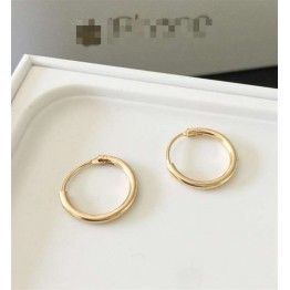 ZHEGUOYAOLU Unisex Fashion Circle Earrings