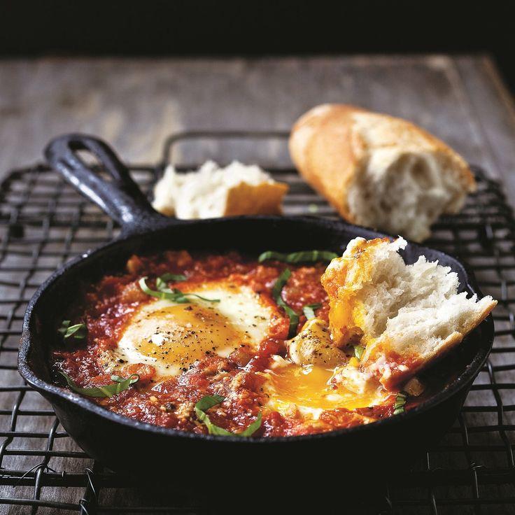 The Chew | Recipe | Mario Batali's Eggs In Hell
