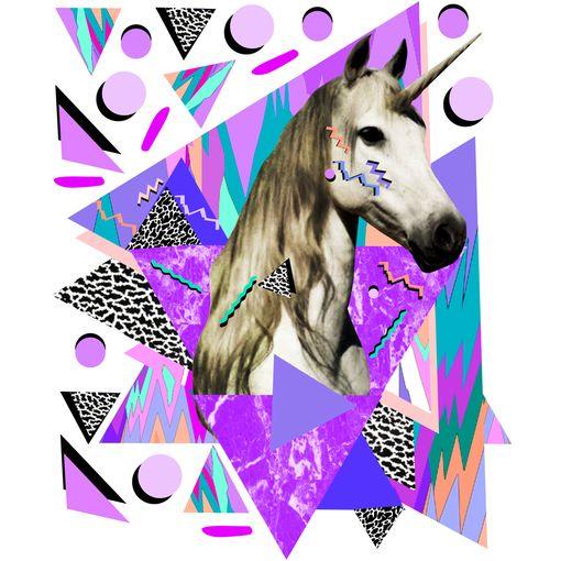 """Kris Tate's """"Acid"""" Adhesive Print"""