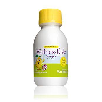 Rybí tuk Omega 3 s přírodní citrónovou příchutí. Obsahuje zásadní mastné kyseliny, nezbytné pro zdravý růst a vývoj dítěte. Pro děti ve věku od 3 let. 105  ml    Kód:22467