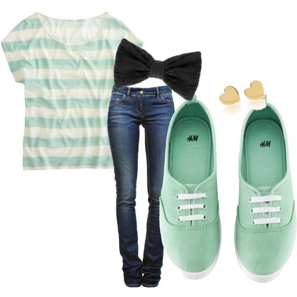 """""""Cute outfit for school"""" by christina2754 on Polyvore"""