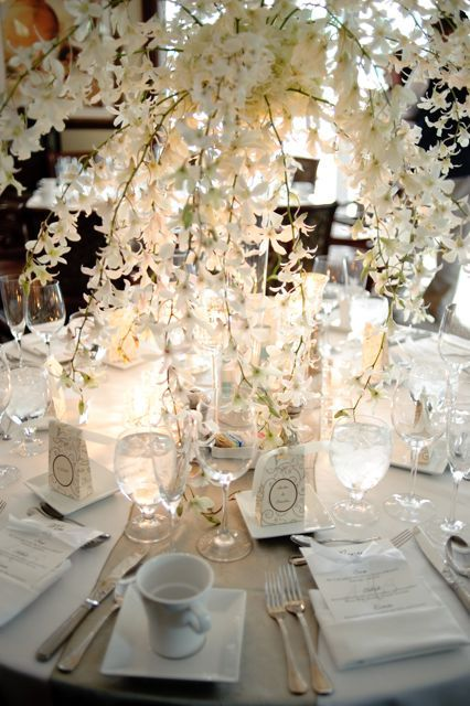 decorative banquet tables | Tips for Decorating Round Banquet Tables | Embellished Events {Blog}