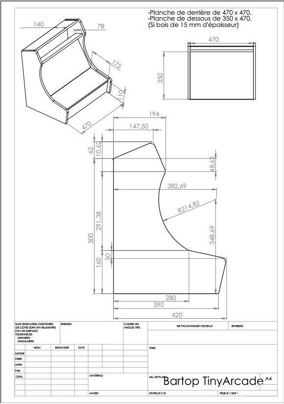 Bartop Arcade Cabinet Plans Diy Woodworking And Projects
