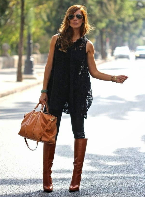 Chic and Silk: SHOES: Καφέ Μπότες. 8 Τρόποι Να Τις Φορέσετε!
