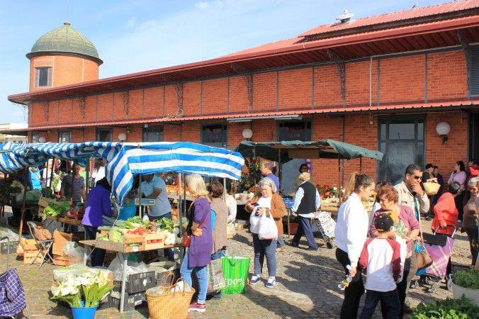 The farmer's market in Olhão. Algarve, Portugal (Wibke Carter)