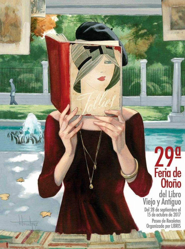 imagen 1 de Feria de Otoño del Libro Viejo y Antiguo: la magia de la literatura regresa a Madrid.