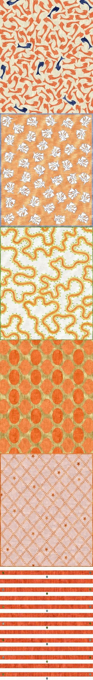 These are large rugs - have a favorite for an orange-o-phile?
