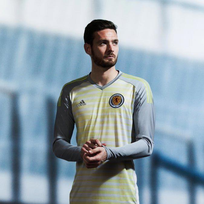 Camisas da Escócia 2018-2019 Adidas goleiro