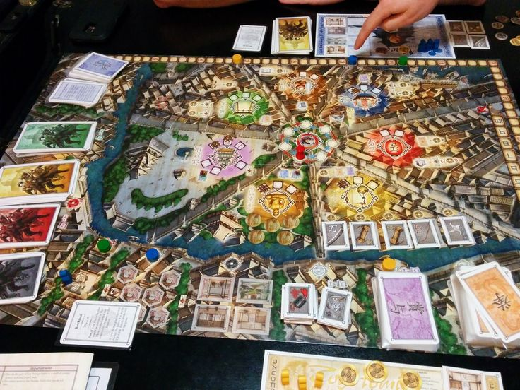 "In the strategy game ""Yedo"", players assume the roles of Clan Elders in the city of Edo during the early years of the Tokugawa Shogunate. The object of the game is to amass Prestige Points, mainly by completing missions. To do so, players must gather the necessary assets and – most importantly – outfox their opponents and prevent them from completing their missions.  There are several ways to reach your goal. Will you try to complete as many missions as possible and hope that your efforts…"