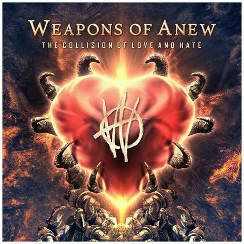 """Weapons of Anew to Release """"The Collision of Love and Hate"""" and Tour North America With Tesla - http://www.okgoodrecords.com/blog/2017/08/09/weapons-anew-release-collision-love-hate-tour-north-america-tesla/ - Weapons of Anew, the dynamic new band that features Freddy Ordine, Ray West, Stefan """"Reno"""" Cutrupi, Chris Manfre, and new guitarist Kris Norris will release their debut recording, """"The Collision of Love and Hate"""" on September 15, 2017 on OK Good"""