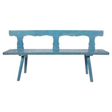 Check out this item at One Kings Lane! Antique Scandinavian Bench