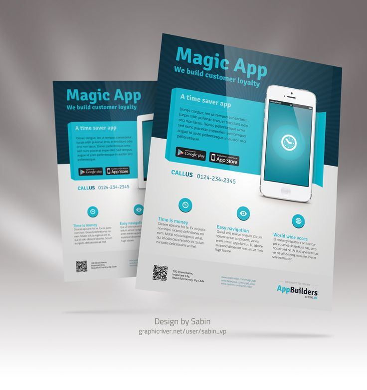 9 best enterprise images on Pinterest   Flyer, Flyer vorlage und Handys