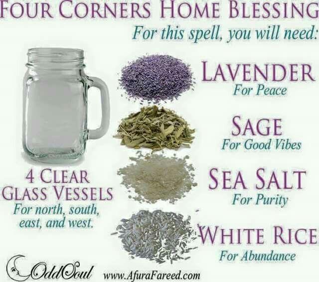 Magick Spells:  Home Blessing #Spell.
