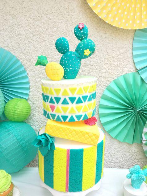 Design Cake Cactus party