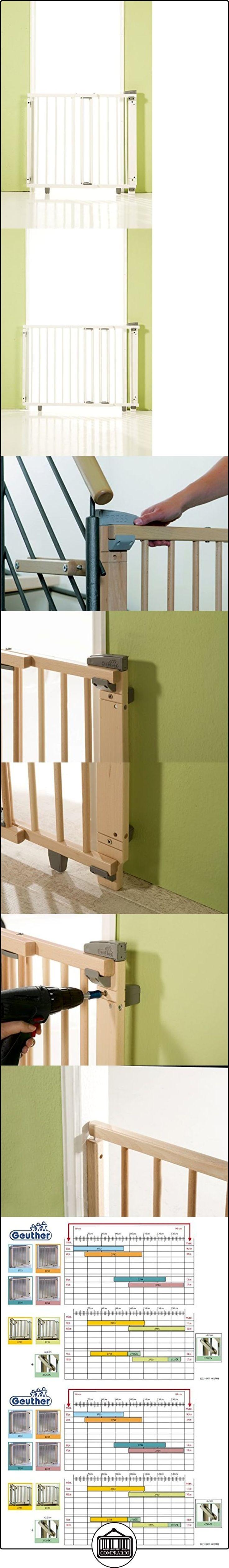 Geuther 2733 WE - Valla  ✿ Seguridad para tu bebé - (Protege a tus hijos) ✿ ▬► Ver oferta: http://comprar.io/goto/B004AKIH7O