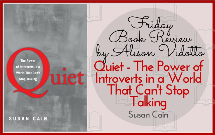 My latest book review is all about introverts. I'm an extrovert by nature so while it doesn't relate to me personally, I think it has some great insights into how introverts are often misunderstood and undervalued.  http://www.pushbusinesstraining.com/quiet-the-power-of-introverts-by-susan-cain/ #BookReview