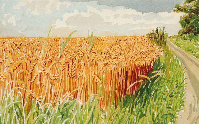 Hockney Midsummer East Yorkshire 3