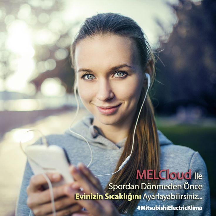 #MELCloud teknolojisi ile spordan dönmeden önce evinizin sıcaklığını ayarlayın... #MitsubishiElectricKlima www.klima.mitsubishielectric.com.tr #mitsubishielectric #klima #hvac #ac #kış #winter #smart #phone #app #sıcaklık #cool #home #house #uygulama #enerji #energy #airconditioner #yaşam #lifestyle #cloud #web #spor #healthy #life #running