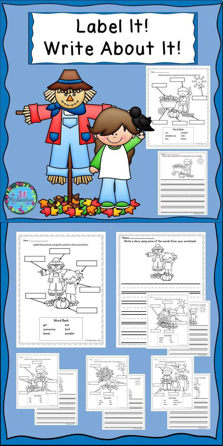 This writing activity is great for kindergarteners, first graders, and English Language Learners and can be used in a writing literacy center, small group, whole group or as morning work. !Includes:6 Label It Fall Themed Printables 6 Write About It Fall Themed Printables