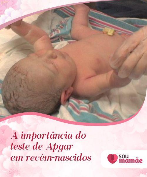 A importância do teste de Apgar em recém-nascidos   As #mães esperam ansiosamente para ter seus #filhos, mas compreendem a importância desse atraso. Os médicos geralmente o submetem ao chamado #teste de #Apgar. #Bebês