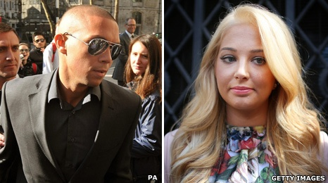 """Justin Edwards """"MC Ultra"""" apologizes to Tulisa over sex tape.  The singer and X Factor judge was at London's High Court to accept the """"sincere apologies.""""  Tulisa, 23, launched the legal action against her 28-year-old ex-boyfriend and others after the footage was posted on a website.  She won a High Court order in March banning publication of the clip showing her engaged in a sexual act. The couple split up in 2009."""