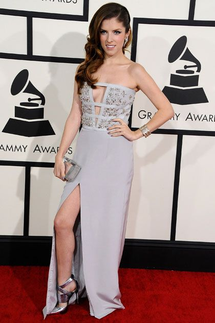 All the Best Grammy Red Carpet Looks, from Taylor Swift to Ariana Grande: Anna Kendrick in Azzaro