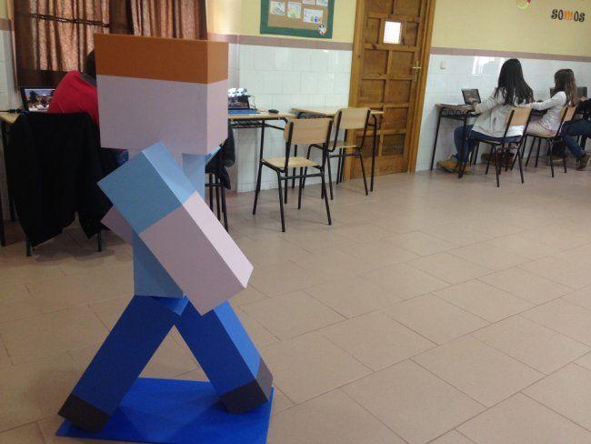 <p>Aula del Colegio Hermanos Amorós. EFE/Mar Morales</p>