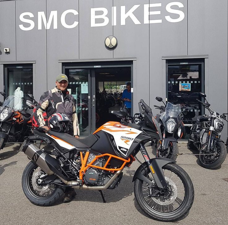 Ash is #ReadyToRace and #ReadyForAnything with his brilliant #KTM #Adventure smcbikes.com 01142525454 http://ift.tt/2vA5Uk9