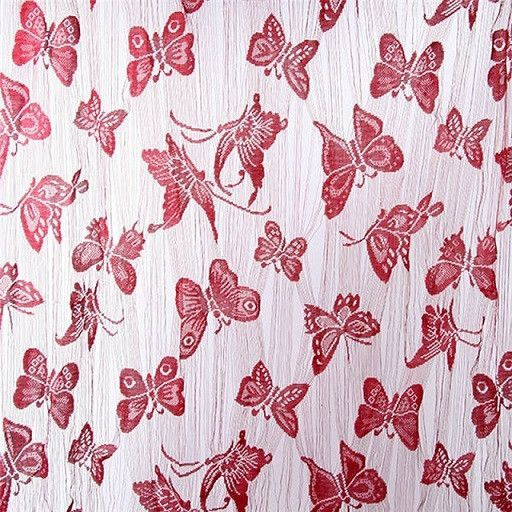 New Butterfly Style Tassel String Door White Black Curtain Bedroom Divider Luxury Window Curtain Living Room