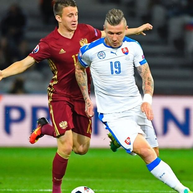 Aleksandr #Golovin #Russia contro Juraj #Kucka #Slovacchia