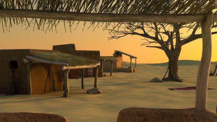 Siward PORTOFOLIO > Village Africain