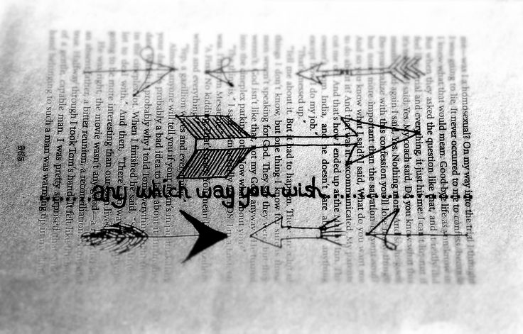 I used an old book page to doodle on then photographed it.  Lastly I played around with the photo, this part was a lot of funn.