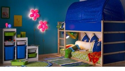 Toddler Bunk Beds -- A great space-saver for urban city-dwellers (like my family) and even more fun for the kids. Still anxiety-inducing depending upon the age and coordination of the munchkin, but perhaps worth it.