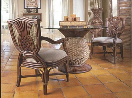 Pineapple Dining Room Table, Pineapple Dining Room Chairs